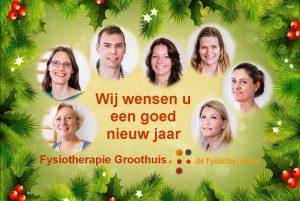 Kerst Fysiotherapie Groothuis